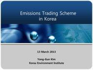 South Korea: Emissions Trading Scheme