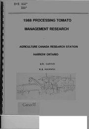 1988 PROCESSING TOMATO MANAGEMENT RESEARCH - Atrium