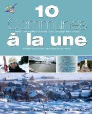 10 communes a? la une n° 14 octobre ... - Ville de Pontarlier
