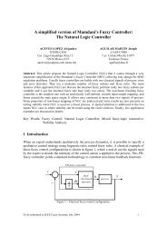 A simplified version of Mamdani's Fuzzy Controller: The Natural ...