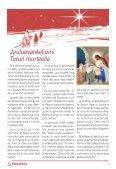 Rauhallista Joulua Kirkonpalvelijalehden lukijoille - Kirkonpalvelijat ry - Page 3