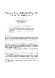 Transition Entropy in Partially Observable Markov ... - ResearchGate