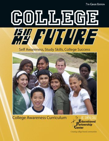College Awareness Curriculum - Educational Partnership Center
