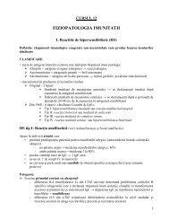 Fiziopatologia imunităţii - OvidiusMD