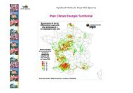 Plan Climat Energie Territorial - Pays Midi-Quercy