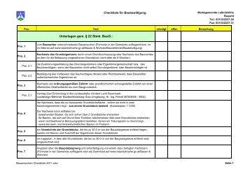 Bauansuchen Checkliste 2011.xlsx - Marktgemeinde Laßnitzhöhe