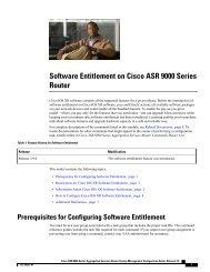 Software Entitlement on Cisco ASR 9000 Series Router