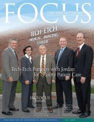 Tech-Etch Partners with Jordan for Quality Patient ... - Jordan Hospital