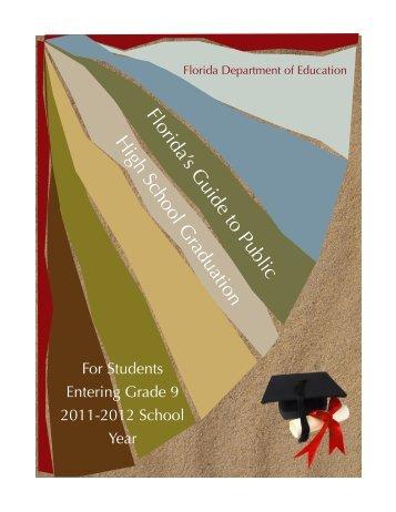 Florida's Guide to Public High School Graduation - Florida ...