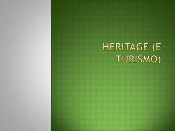 Heritage (e turismo) - Lettere e Filosofia