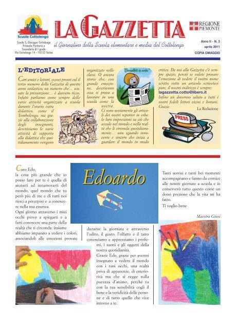 2011 (3) - Scuola paritaria SGB Cottolengo