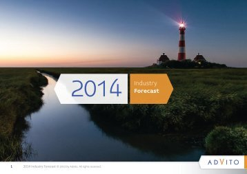 2014 Industry Forecast - BCD Travel