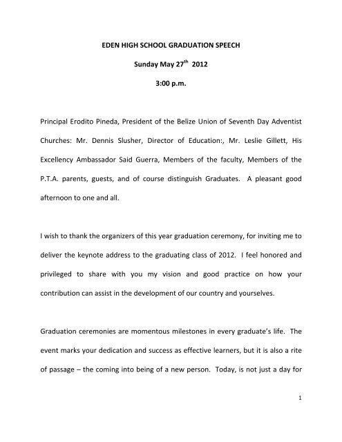 graduation speech athenians visigoths