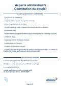 Dossier De canDiDature - SPLF - Page 6