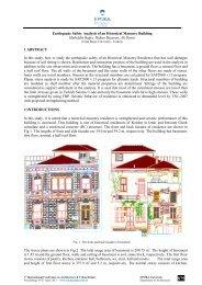 Earthquake Safety Analysis of an Historical ... - Epoka University