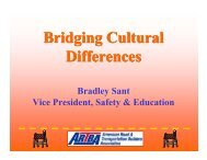 Bridging Cultural Differences - National Work Zone Safety ...