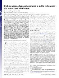 PNAS (sickle cell anemia) - Center for Fluid Mechanics, Turbulence ...