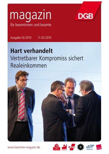 Beamten-Magazin - Landesbeamte
