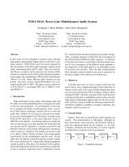 POLI-MAS: Power-Line Multichannel Audio System