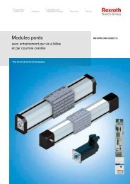 Modules ponts - Bosch Rexroth