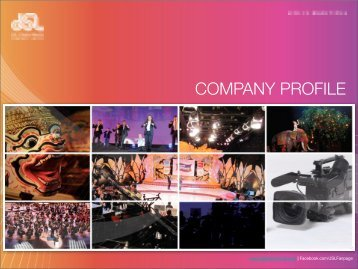 COMPANY PROFILE - JSL Global Media