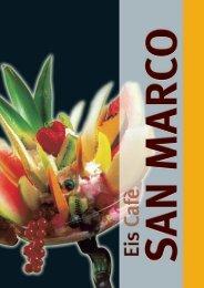 Unsere neue Speisekarte mit Eis, Waffeln, Crêpes ... - bei San Marco