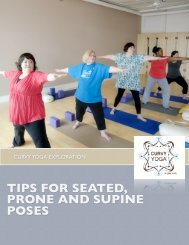TIPS FOR SEATED, PRONE AND SUPINE POSES - Curvy Yoga