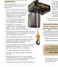 LoadMate Electric Chain Hoists - Page 2