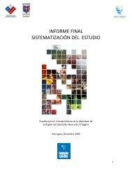 Estudio Fortalecimiento de la Identidad Regional ... - Territorio Chile