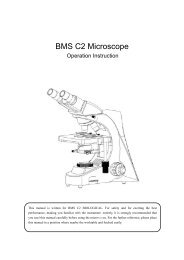 BMS C2 Microscope - BMS and Labomed - high quality microscopes