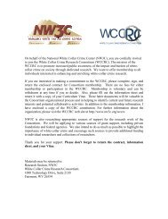 Join WCCRC: Welcome Packet - National White Collar Crime Center