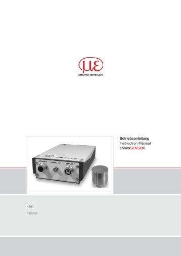 Betriebsanleitung combiSENSOR (PDF, 1.87 MB) - Micro-Epsilon ...