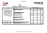 Degvielas tvertnes - Sanistal