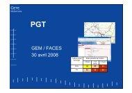 Presentation GEM_PGT avril 2008.pdf - CETE Méditerranée