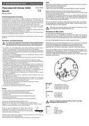 Phasenabschnitt-Dimmer DI300 Bausatz - Produktinfo.conrad.com