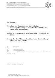 SLF Checklisten