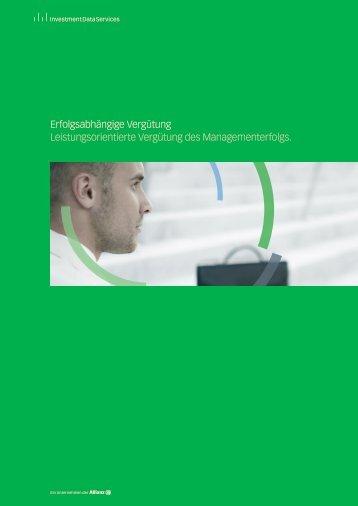 Erfolgsabhängige Vergütung - IDS GmbH - Analysis and Reporting ...