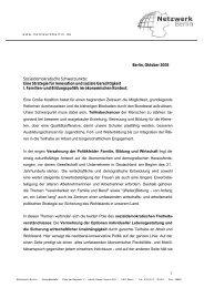 Positionspapier doanloaden - Netzwerk Berlin