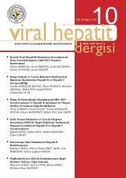 Viral Hepatit 2010 Dergisi-2 - VHSD