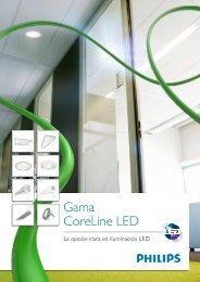Gama CoreLine LED - Philips