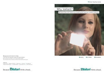 Vaillant_HomeHeating_Brochure - Plumb Center online