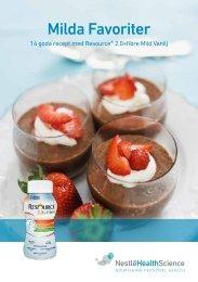 Milda Favoriter - Nestlé Nutrition