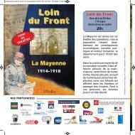 programme officiel loin du front - Laval