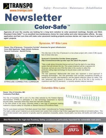 Newsletter - Transpo Industries, Inc.