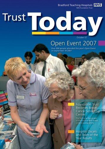 Trust Today   October 2007 - Bradford Teaching Hospitals NHS ...