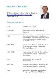 Prof. Dr. Calin Vicol