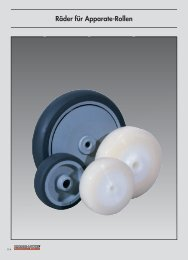 Industrial wheels and castors from our main ... - Räder-Vogel
