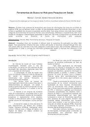 Artigo tecnologia em saude CBIS - SBIS