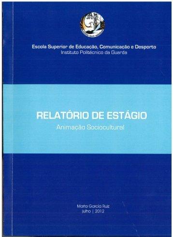 Centro de Alcoólicos Recuperados da Guarda - Biblioteca Digital do ...