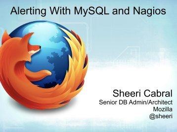 Alerting With MySQL and Nagios
